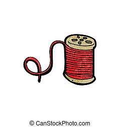 cartoon thread