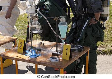 drug lab - Illegal drug lab