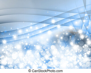 winter fantasy, bokeh background