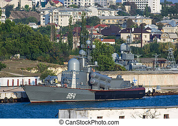 Russian quot;Tarantulquot;-class of missile corvette -...