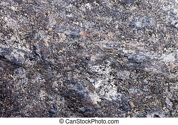 River rock abstract background close up