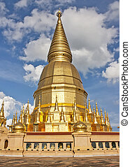Wat Phra Bat Huai Tom Places of worship Buddha Relics Pagoda...