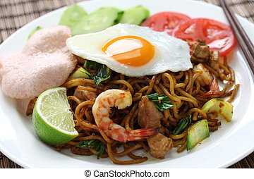 mie goreng, mi goreng - indonesian cuisine, fried noodles...