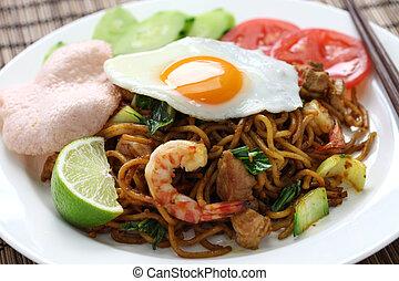 mie goreng, mi goreng - indonesian cuisine, fried noodles...