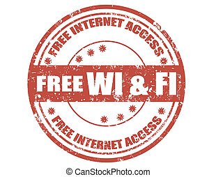 Free internet access-stamp