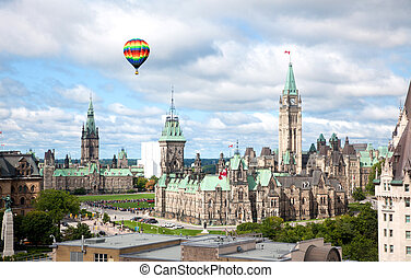 Parliament Buildings in Ottawa, Canada - The famous...