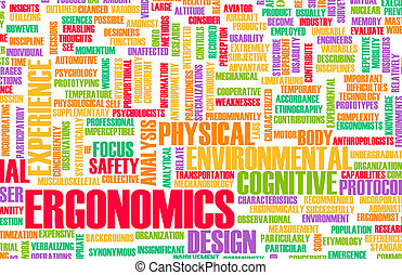 Ergonomics Science and Study Human Factor Concept