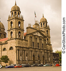 Church in Toluca Mexico - Toluca Mexico, Cathedra at Main...