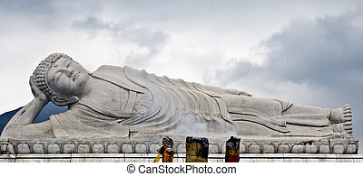 Sleeping Buddha monuments in China