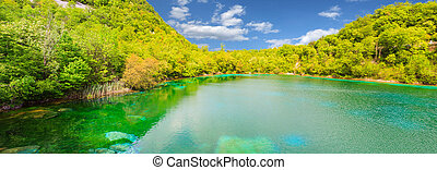 Cornino lake - View of Cornino lake in Friuli Venezia...