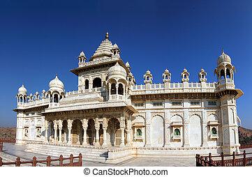 Jaswant Thada mausoleum in India - Jaswant Thada mausoleum...