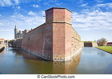Denmark Hamlet castle Kronborg - Ancient castle on the shore...
