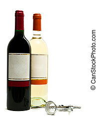 cavatappi, bianco, bottiglie, rosso, vino