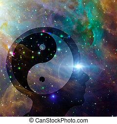 Yin Yang Head