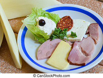 cold cut, oeuvre