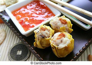 wan tan - asian wan tans