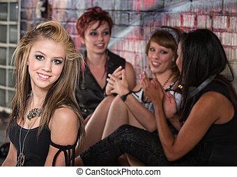 Group of Teens Talking