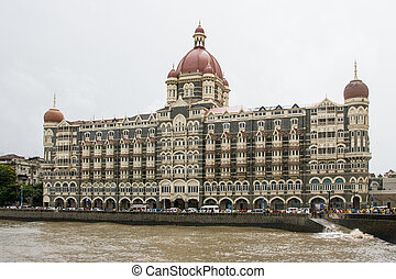 The Taj hotel in Mumbai, India