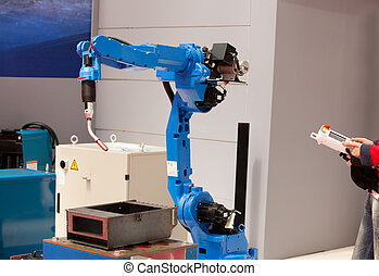 robot arm - Industrial robot arm