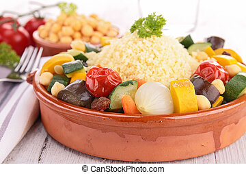 vegetariano, Couscous