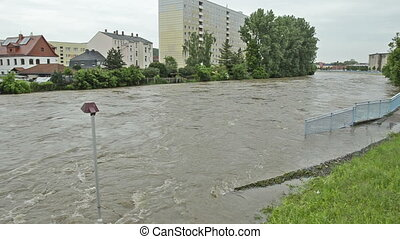 high water 100-year flood June 2013 - The flood of the...