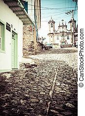 view of the igreja de nossa senhora do carmo of the unesco...