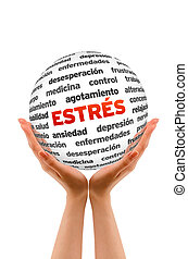Stress Word Sphere (In Spanish)