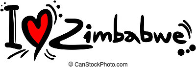Love Zimbabwe - Creative design of love zimbabwe