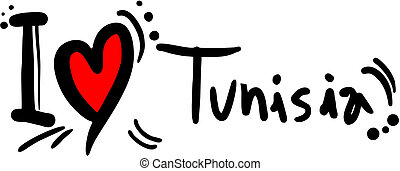 Love Tunisia - Creative design of Love Tunisia