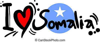 Love somalia - Creative design of love somalia