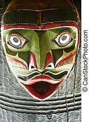 Ancient Tribal Mask - A Mask from Victoria BC