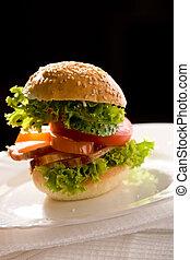 corned-beef sandwich