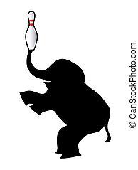 Balnace elephant