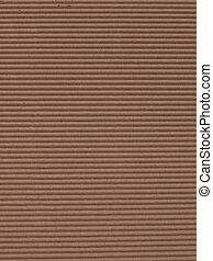 Corrugated cardboard background - Brown corrugated cardboard...