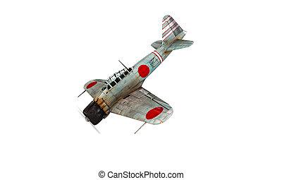 Akutan zero plane fighter