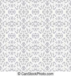 Elegant pattern in art deco style