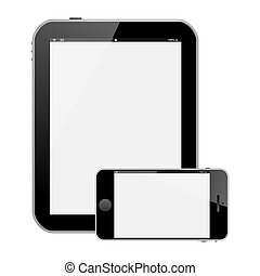 tablet pc smartphone