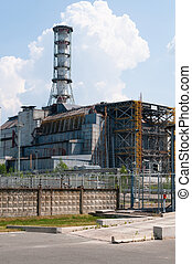 Chernobyl nuclear power station - Chernobyl nuclear reactor...