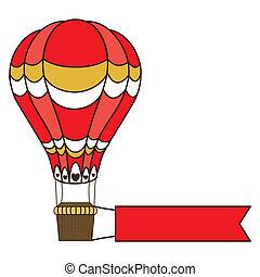 balloon design over white background vector illustration