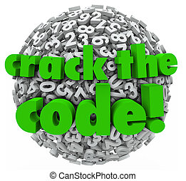 Crack the Code Number Sphere Breaking Password Security -...