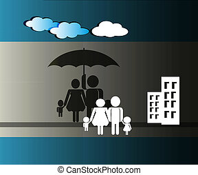 secure or protect family