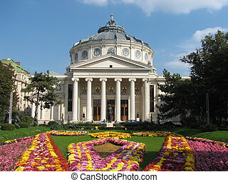 Romanian Atheneum on Calea Victoriei, Bucharest