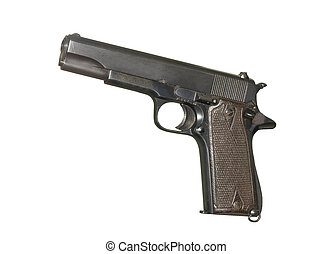 semi-automatic military pistol - U.S. Army handgun Colt...