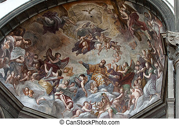 Venice - church of San Zaccaria interior