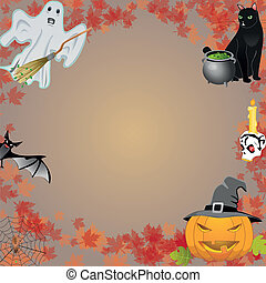Halloween vector set