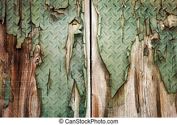 Old grunge wood texture - Old grunge wood panels used as...