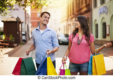 We just love to shop together