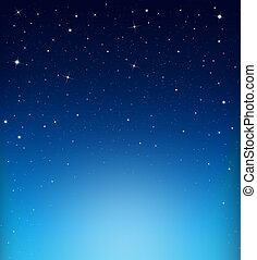 abstract starry blue  background - starry  background