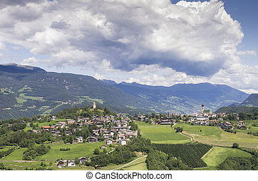Village of South Tyrol (Bolzano)