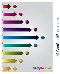 Arrows following dots - Color arrows following color dots...